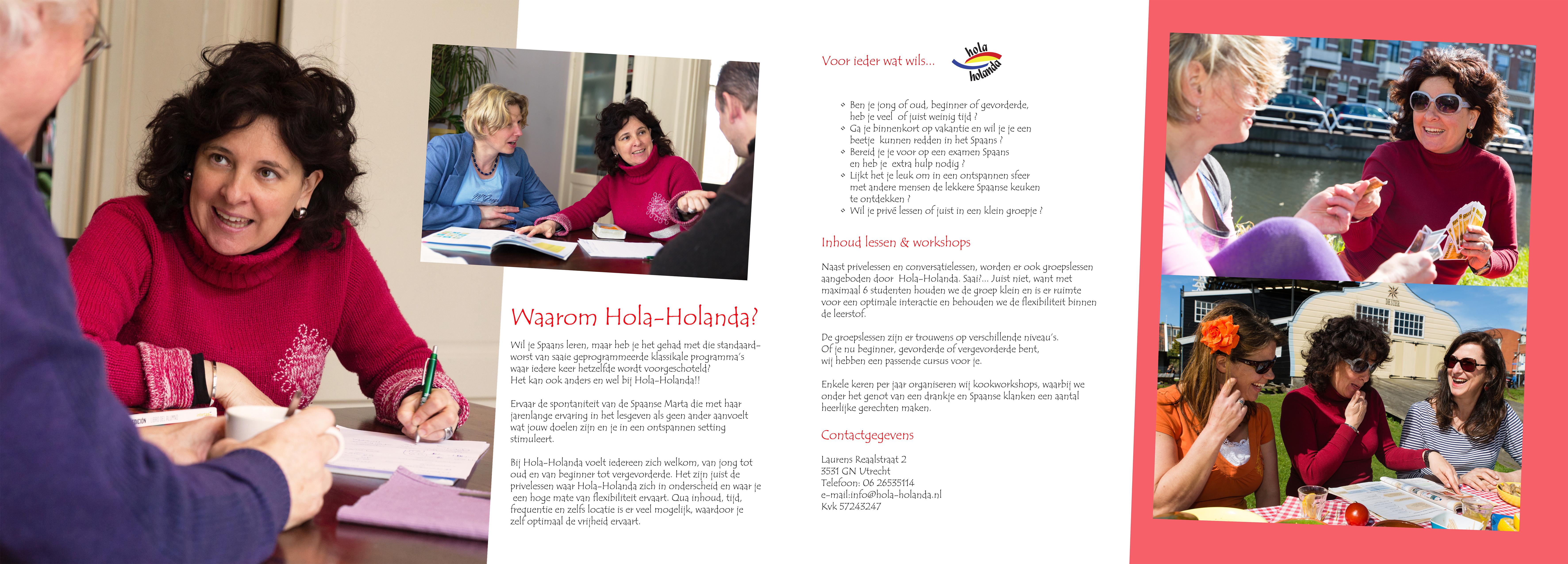 Hola Holanda folder deel2_Binnen links + binnen rechts